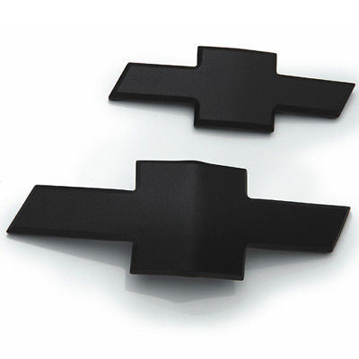 2010-2013 CAMARO FRONT AND REAR BOWTIE EMBLEMS - BLACK