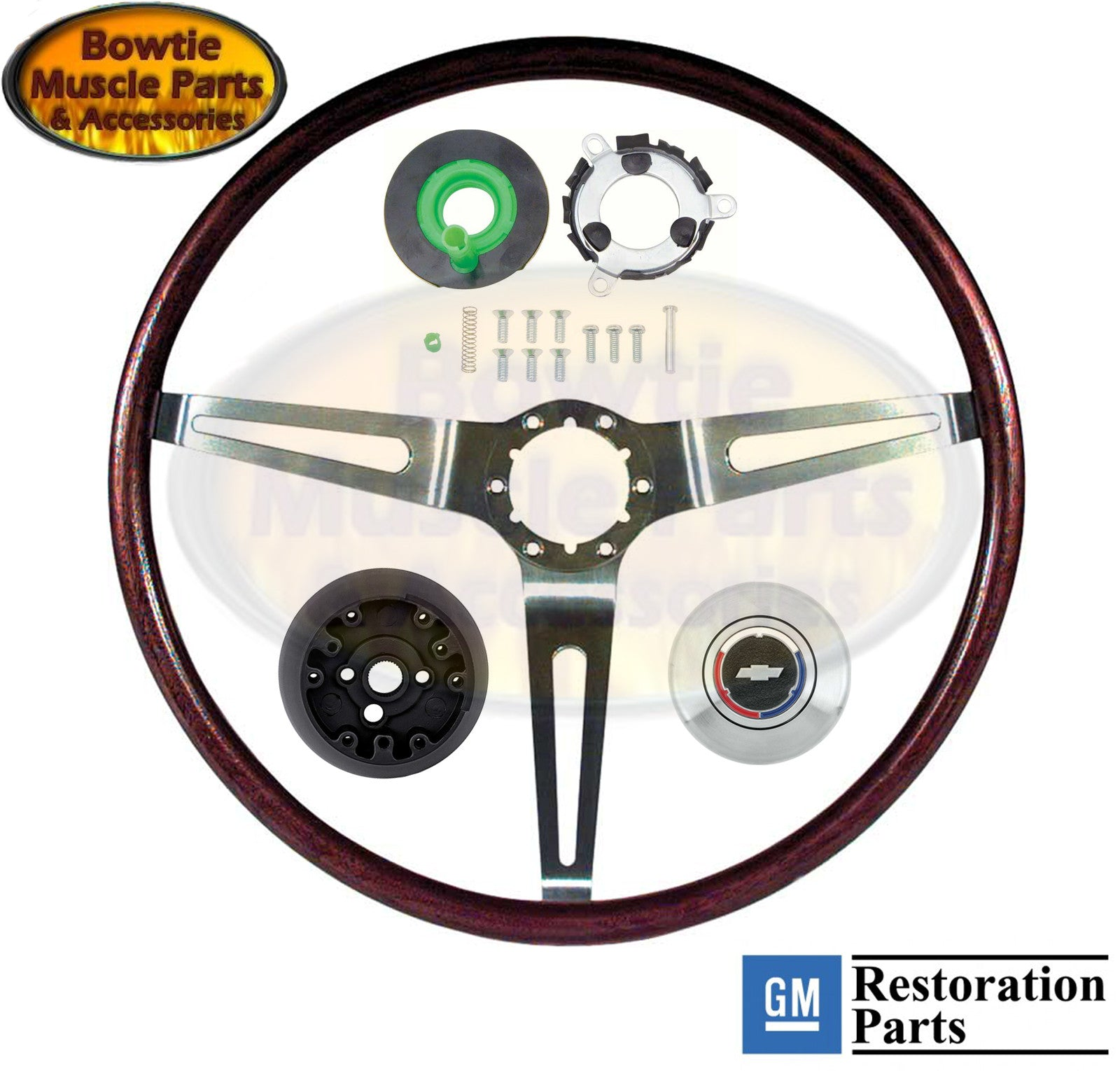 Interior Steering Wheels Amp Horns Bowtiemuscleparts