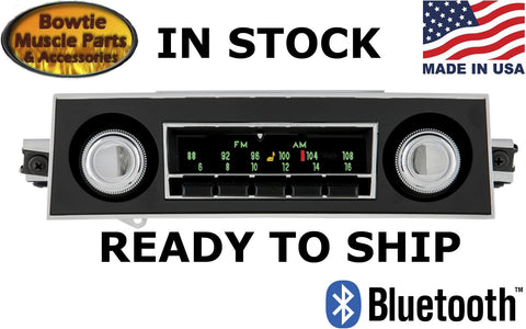 67-68 CAMARO 67 FIREBIRD FACTORY CORRECT AM FM RADIO STEREO BLUETOOTH