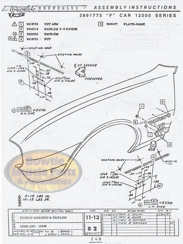 1969 69 Camaro Factory Assembly Manual Z28 SS RS - 488 pages!
