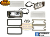 1968 CAMARO RS CONVERSION KIT FACTORY CORRECT CHROME ACCENT RALLYSPORT GRILLE