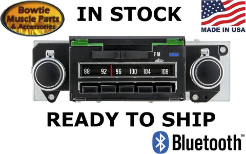 69 CAMARO CHEVELLE NOVA FACTORY CORRECT BLUE LIGHT RADIO STEREO BLUETOOTH