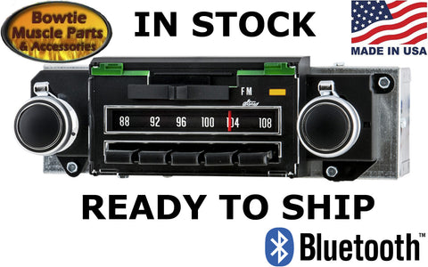 70 CAMARO CHEVELLE NOVA FACTORY CORRECT AM FM RADIO STEREO BRAND NEW IPOD MP3