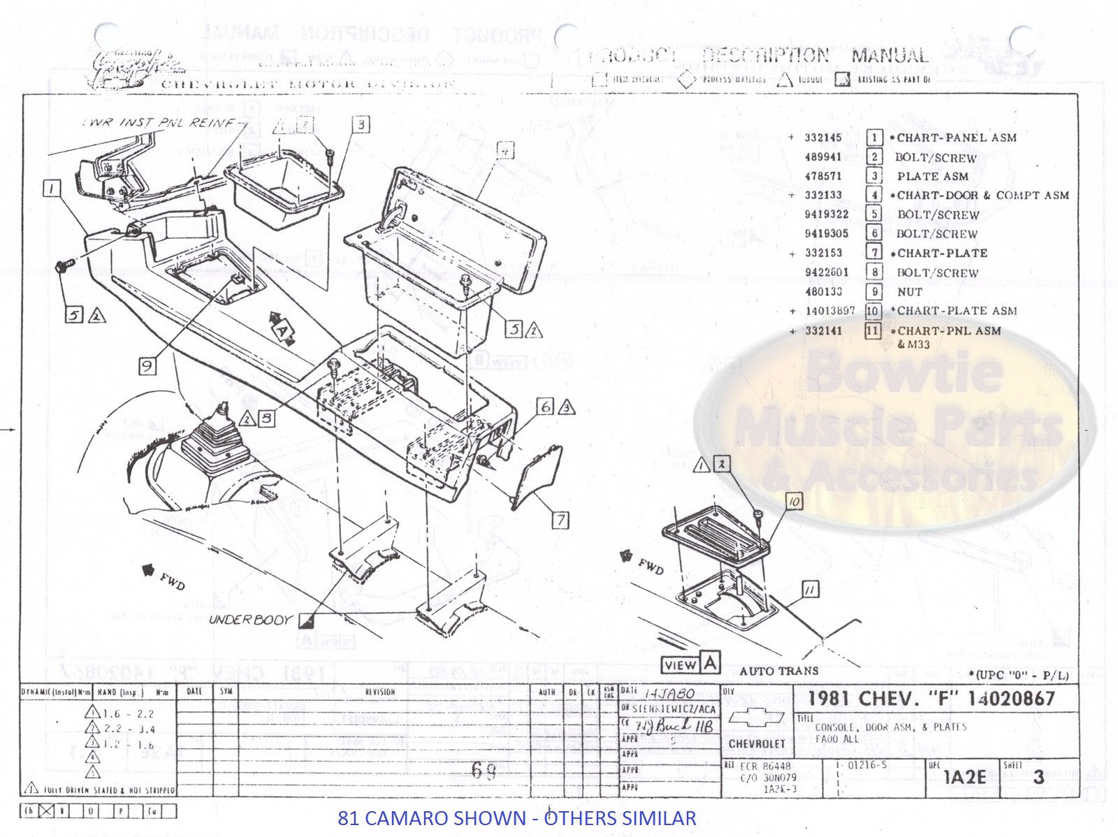 [SCHEMATICS_48YU]  1986 86 Camaro Factory Assembly Manual Z28 - 609 Pages! | BowtieMuscleParts | 1986 Camaro Engine Diagram |  | Bowtie Muscle Parts and Accessories