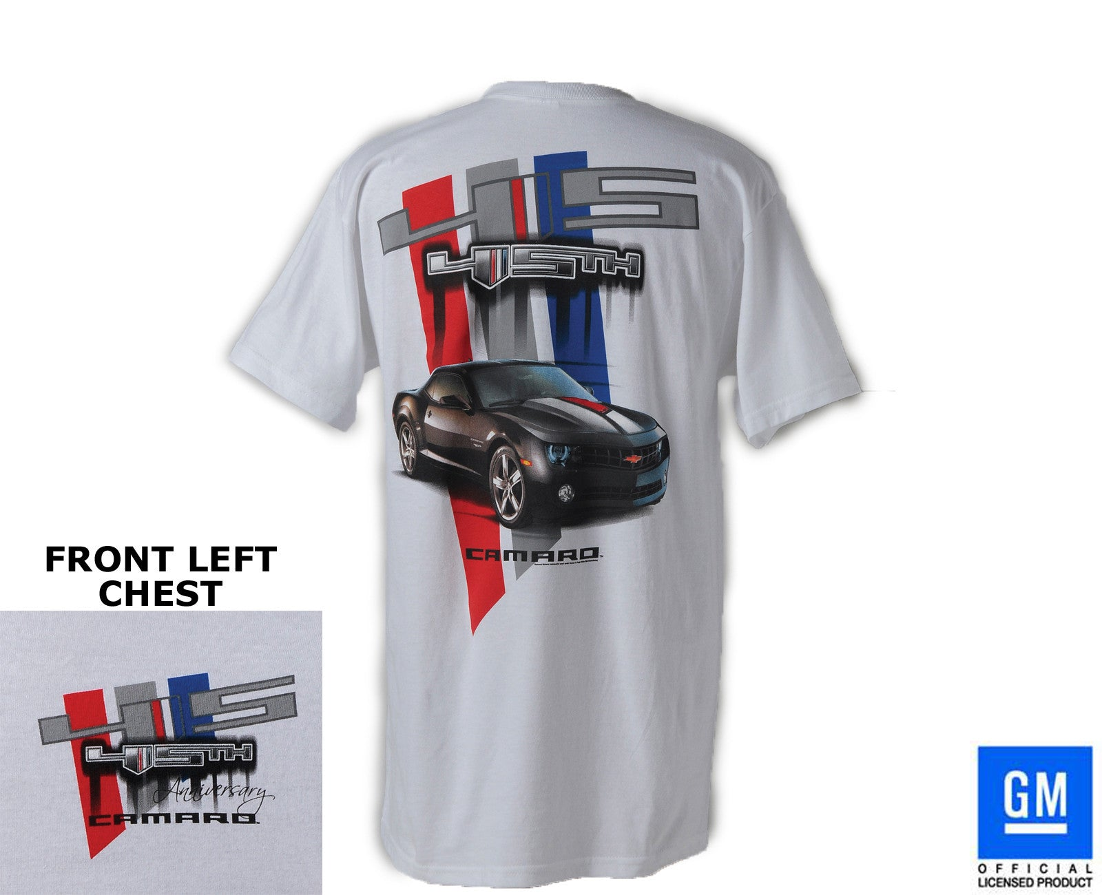45TH ANNIVERSARY CAMARO T-SHIRT