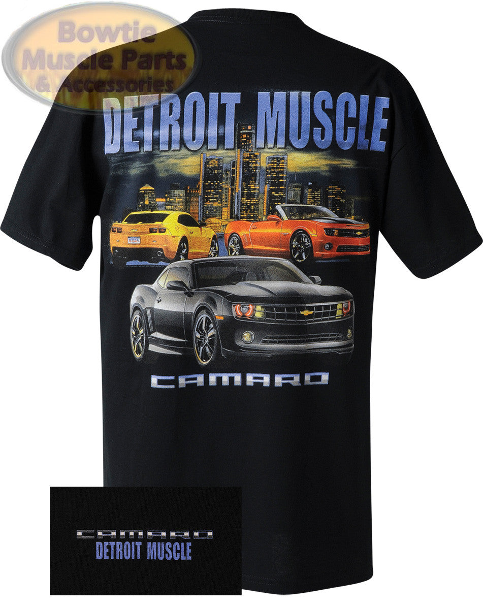 Detroit Muscle 5th Gen Camaro T-Shirt