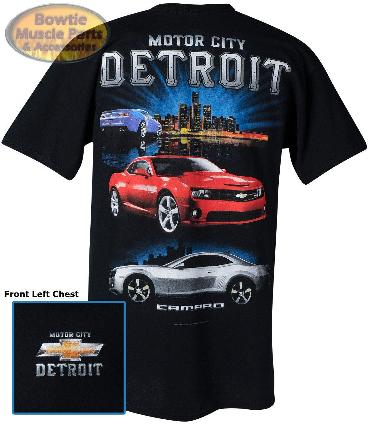 Camaro T-Shirt Motor City