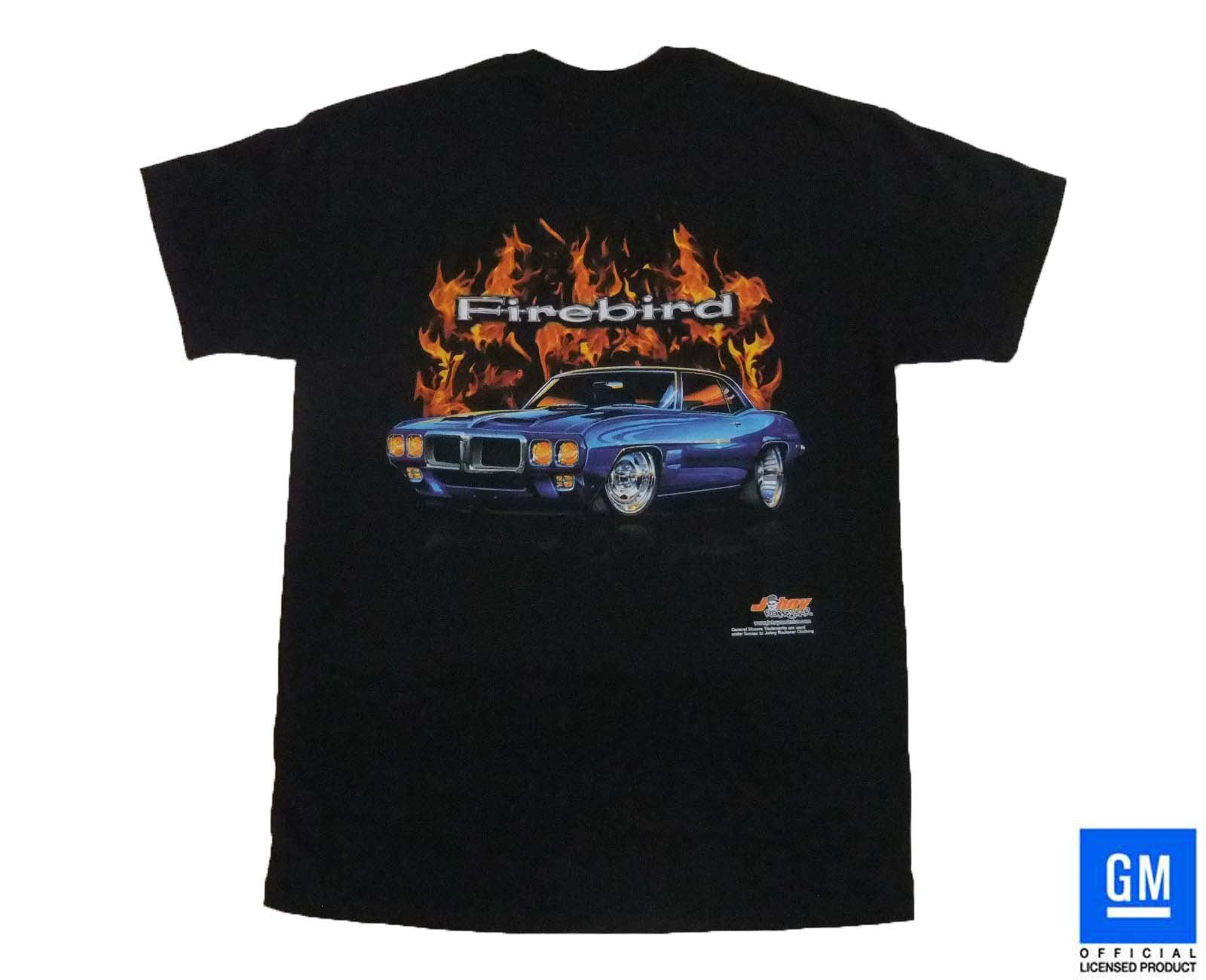 69 FIREBIRD FLAME T-SHIRT BLACK