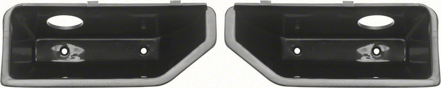 1967 CAMARO 67 FIREBIRD INNER DOOR PANEL CUPS PAIR DELUXE INTERIOR
