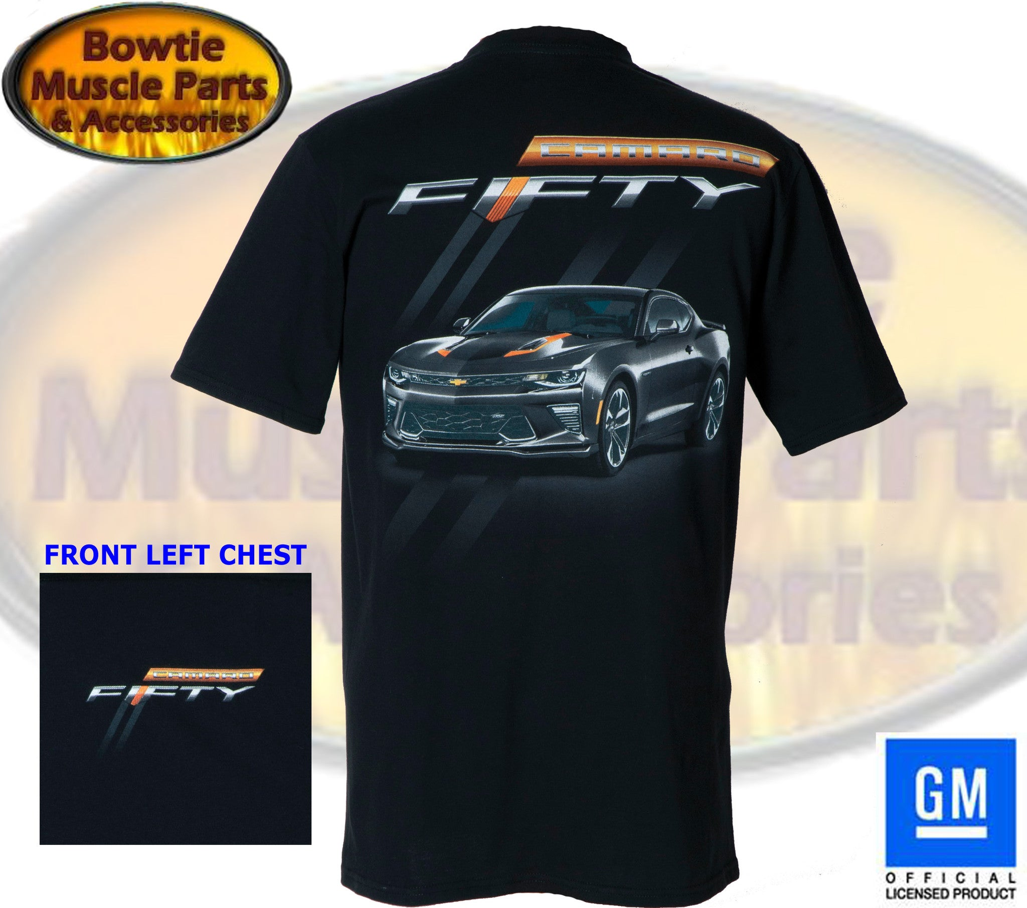 Camaro Fifty Anniversary T-Shirt