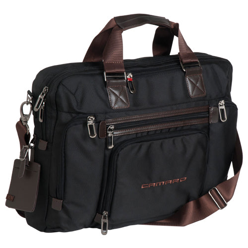 CAMARO LAPTOP NOTEBOOK BUSINESS CARRYING CASE BAG TRAVELER EXCELSIOR SLIM BRIEF