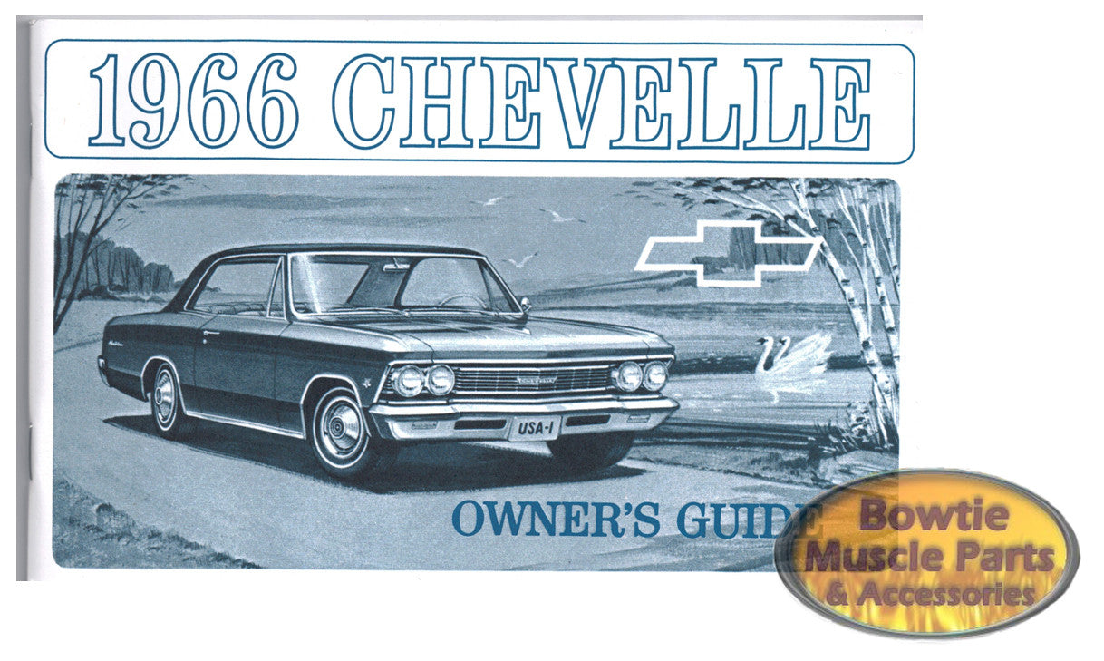 66 Chevelle Owners Manual