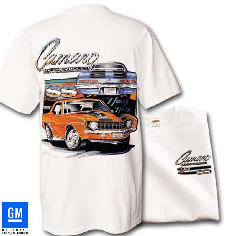 1969 CAMARO T-SHIRT - WHITE