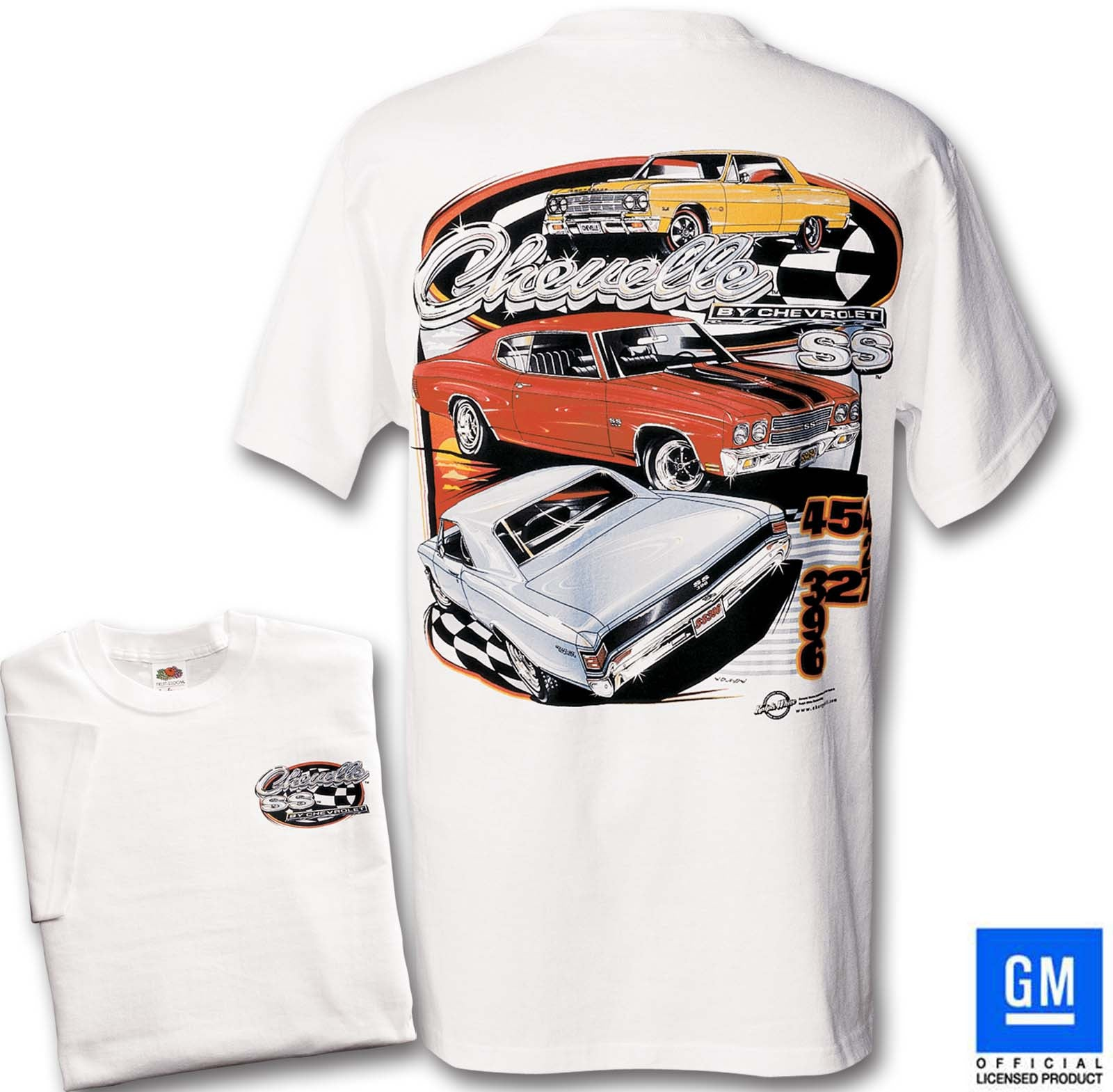 CHEVELLE BY CHEVROLET T-SHIRT