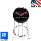 "C6 CORVETTE BAR STOOL FOR COUNTER OR SHOP - 18"" 24"" OR 30"" HEIGHT"