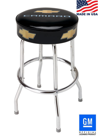 "CAMARO BAR STOOL FOR COUNTER OR SHOP - 18"" 24"" OR 30"" HEIGHT"