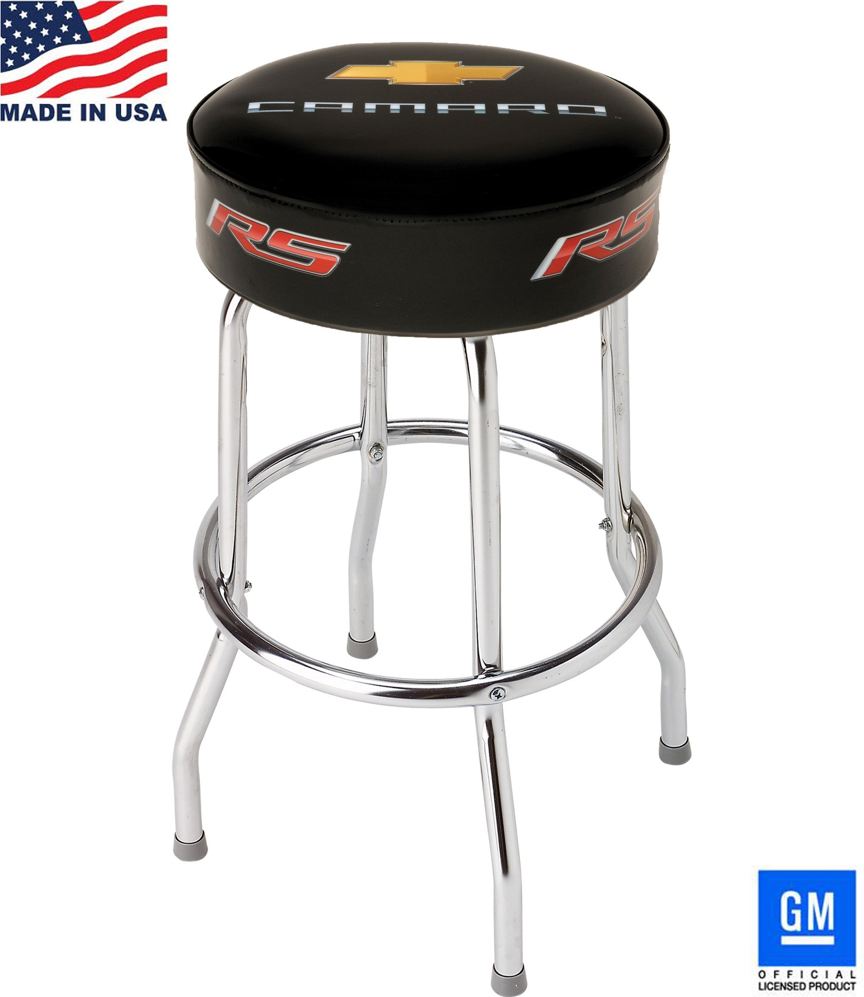Surprising Camaro Rs Bar Stool For Counter Or Shop 18 24 Or 30 Machost Co Dining Chair Design Ideas Machostcouk