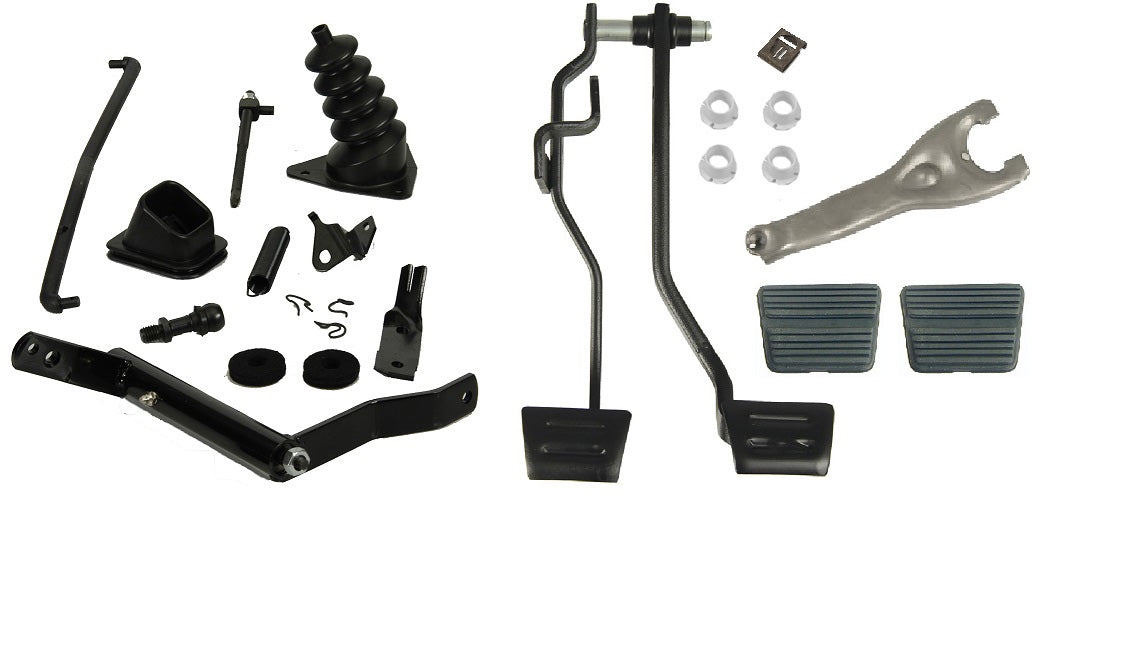 71 72 CHEVELLE EL CAMINO MASTER CLUTCH PEDAL LINKAGE KIT 327 350 396 427 454