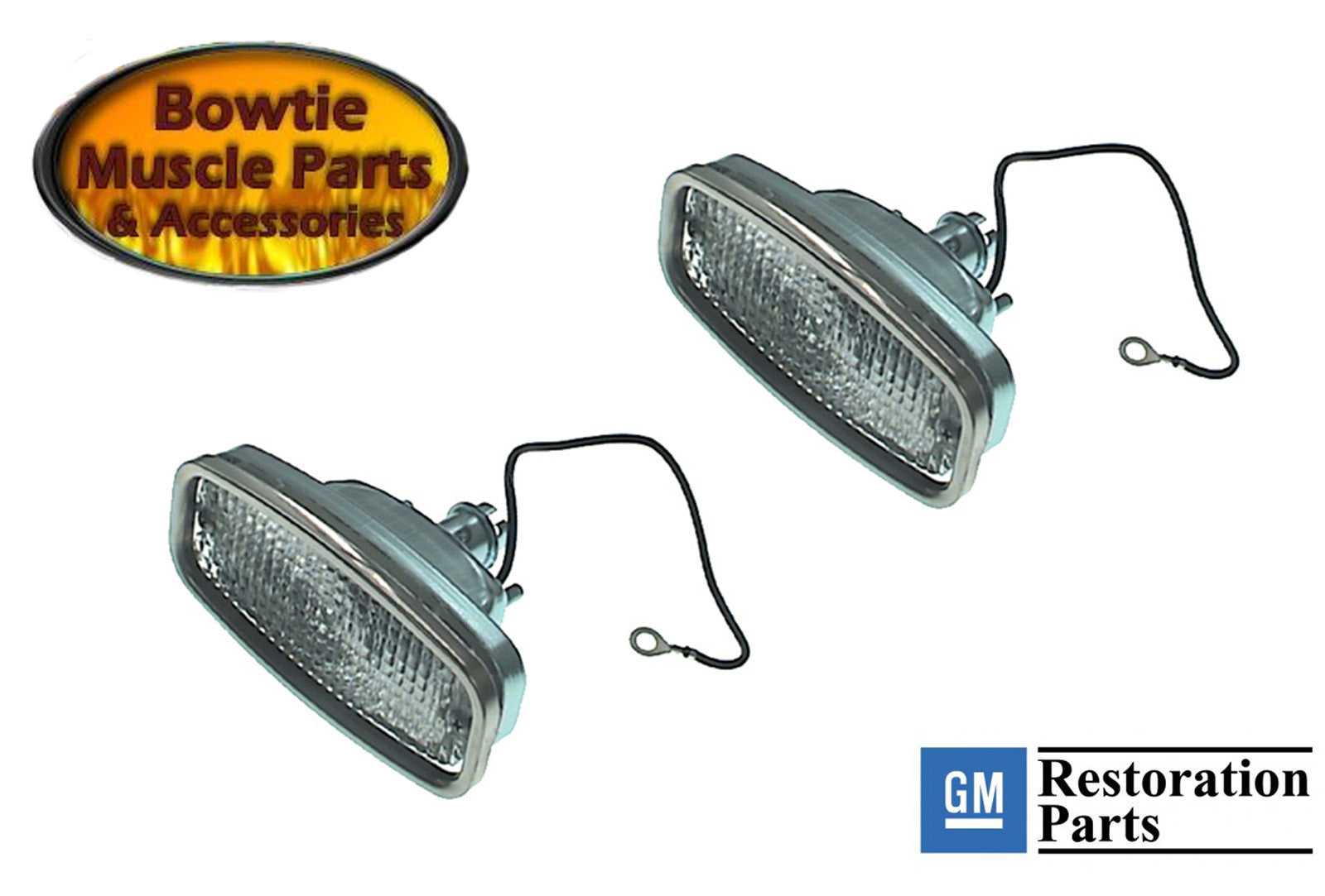 68 camaro parking lamp assembly pair excellent quality gm 68 camaro parking lamp assembly pair excellent quality gm restoration part mozeypictures Image collections