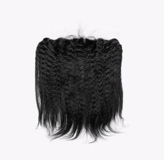Kinky Straight HD Virgin Hair Lace Frontal