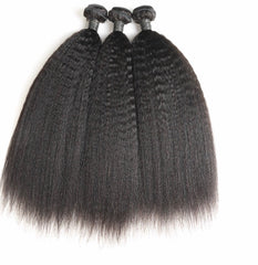 Virgin Malaysian Kinky Straight Hair