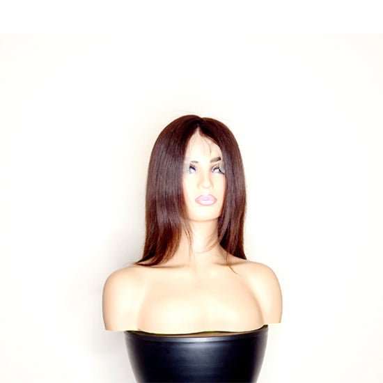 "12"" Glueless Full Lace Wig - Brown"