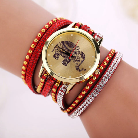 Elephant Watch Bracelet