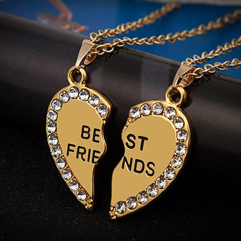 Forever Friendship Necklaces - 2Pcs