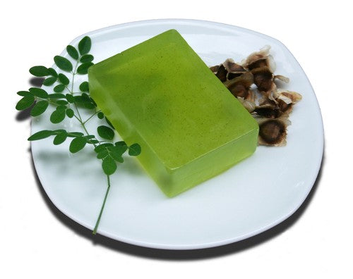 Moringa Oil and Leaf Soap x 3