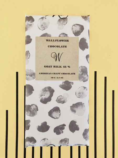 Goat Milk 45 % Dark Chocolate Bar