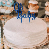 The Party Box Co, Oh Baby Cake Topper