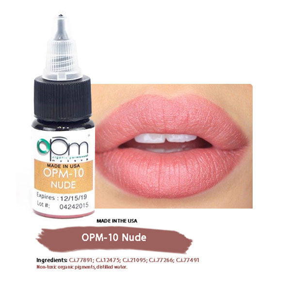 OPM-10 Nude (Lip Pigment) 15ml per bottle