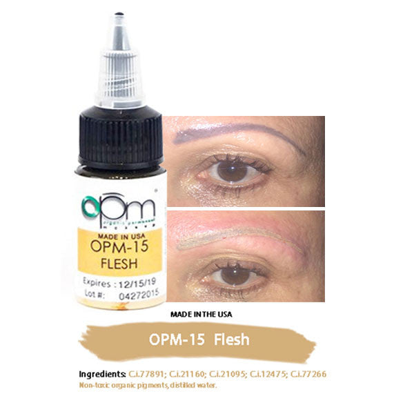 OPM-15 Flesh (Correction Pigment) 15ml per bottle