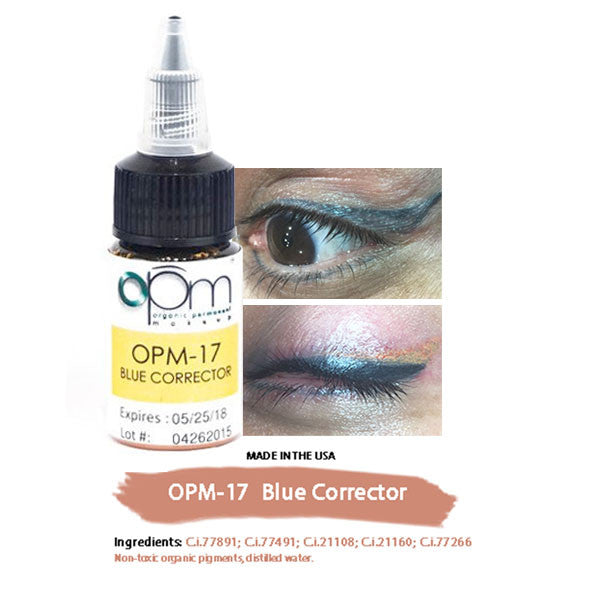 OPM-17 Blue Corrector (Correction Pigment) 15ml per bottle