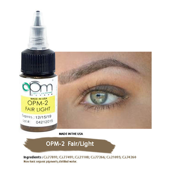 OPM-2 Fair/Light (Eyebrow Pigment) 15ml per bottle