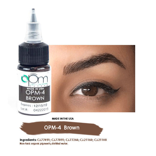OPM-4 Brown (Eyebrow Pigment) 15ml per bottle