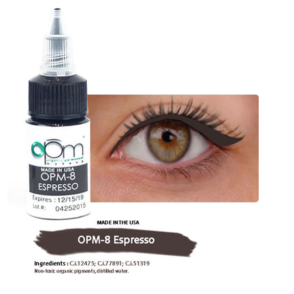 OPM-8 Espresso (Eyeliner Pigment) 15ml per bottle