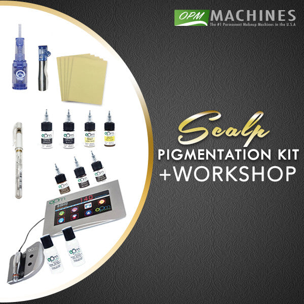 1 DAY SCALP PIGMENTATION WORKSHOP + KIT