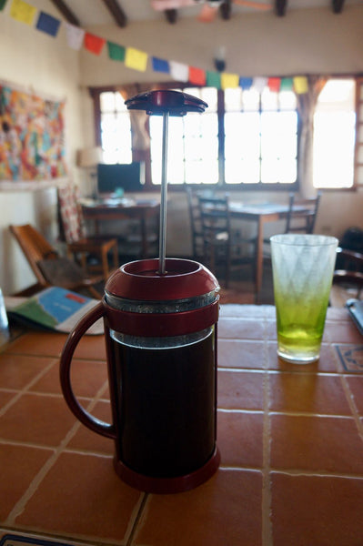 french  press  from home in el astillero nicaragua