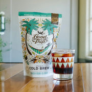 Good Trip coconut infused cold brew coffee