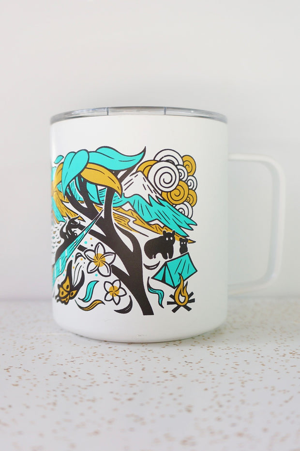 good trip coffee miir camp cup design back view