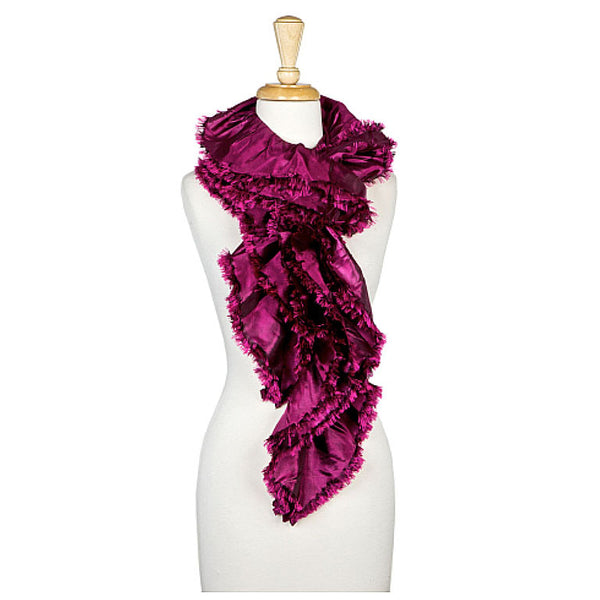 Purple Oblong Scarf - Maggie and Mae