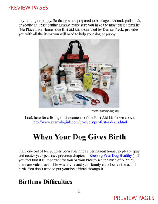 Dog First Aid & CPR (Kindle)