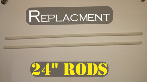 Replacement Rods 21""