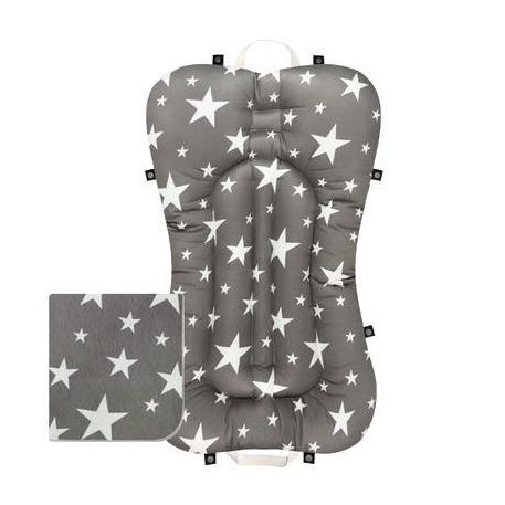 Baby Portable Bedding Set - Milky Way Grey