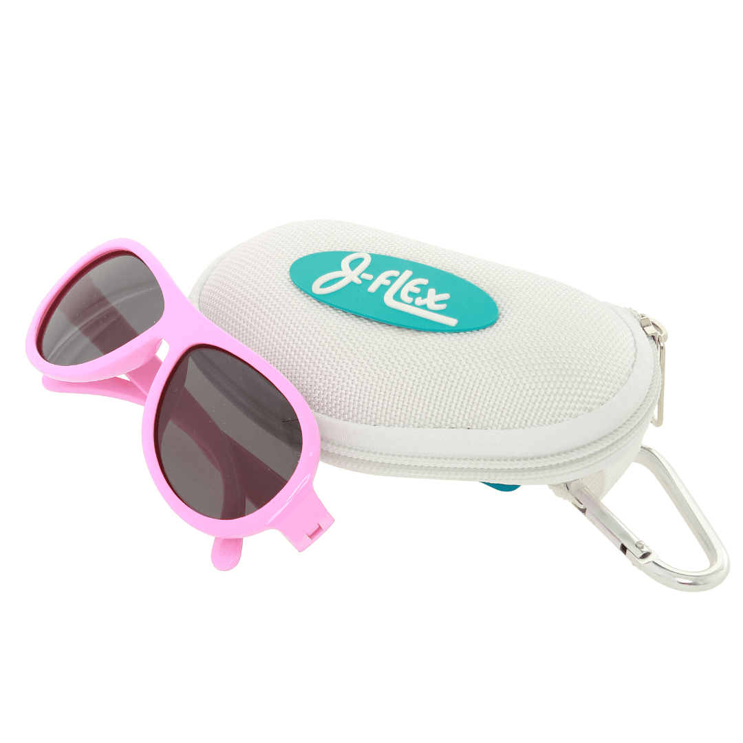 Polarized kids sunglasses - Princess Hearts Pink
