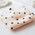 Newborn Crown Pillow + Blanket set - London Dot (Pink)