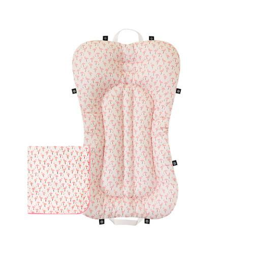 Baby Portable Bedding Set - Flamingo