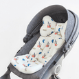 Stroller Liner - Juicy (White)
