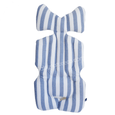Stroller Liner - Blue Stripes Vertical
